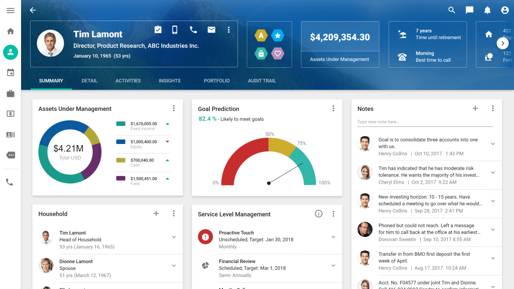 Integrated Advisor Desktop