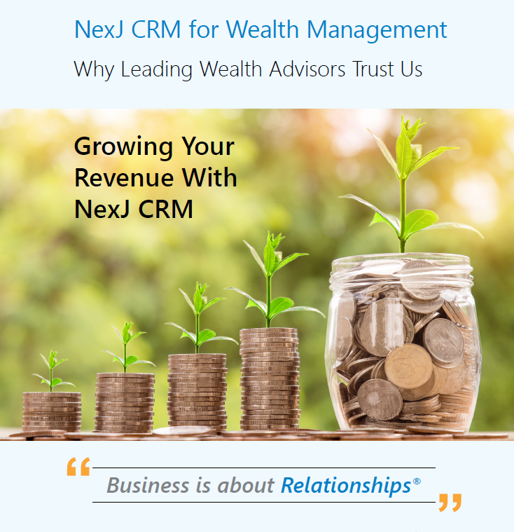 NexJ CRM for Wealth Management: Why Leading Wealth Advisors Trust Us